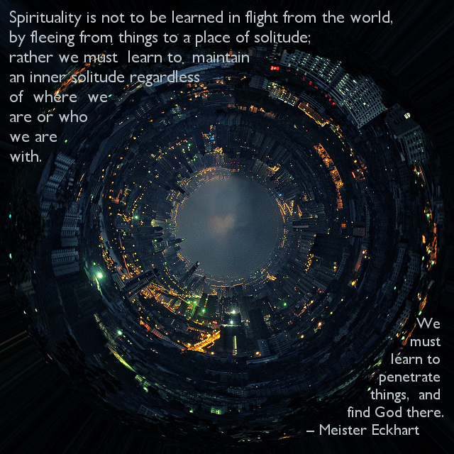 Spirituality is not…