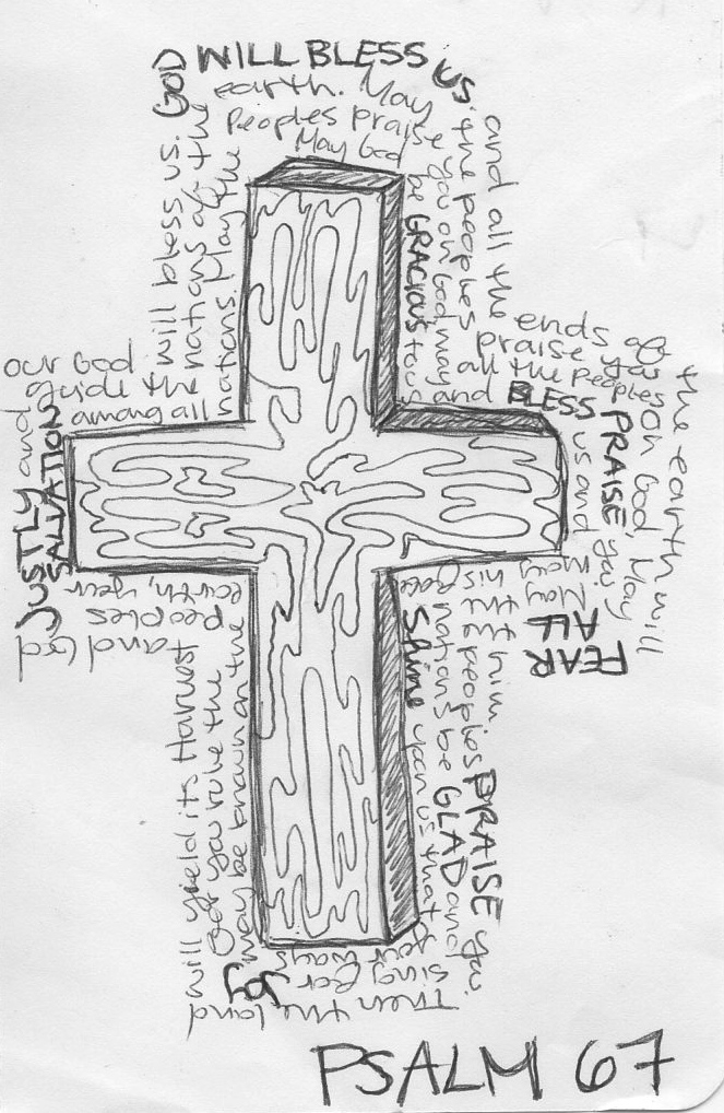Creative Drawing with Psalm 67