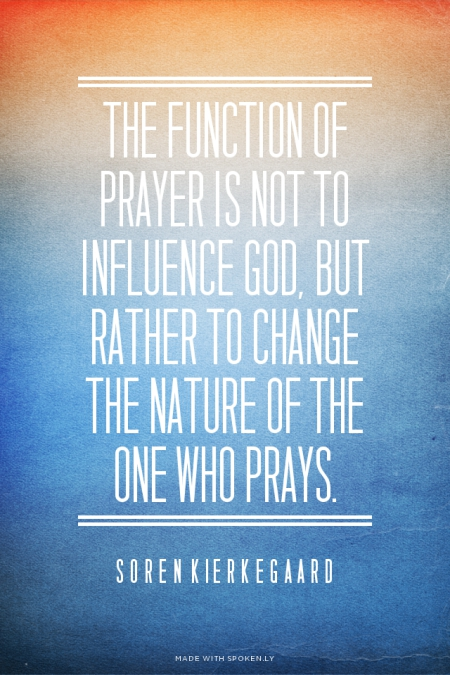 The Function of Prayer. . .
