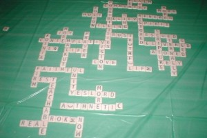 Scrabble Prayer