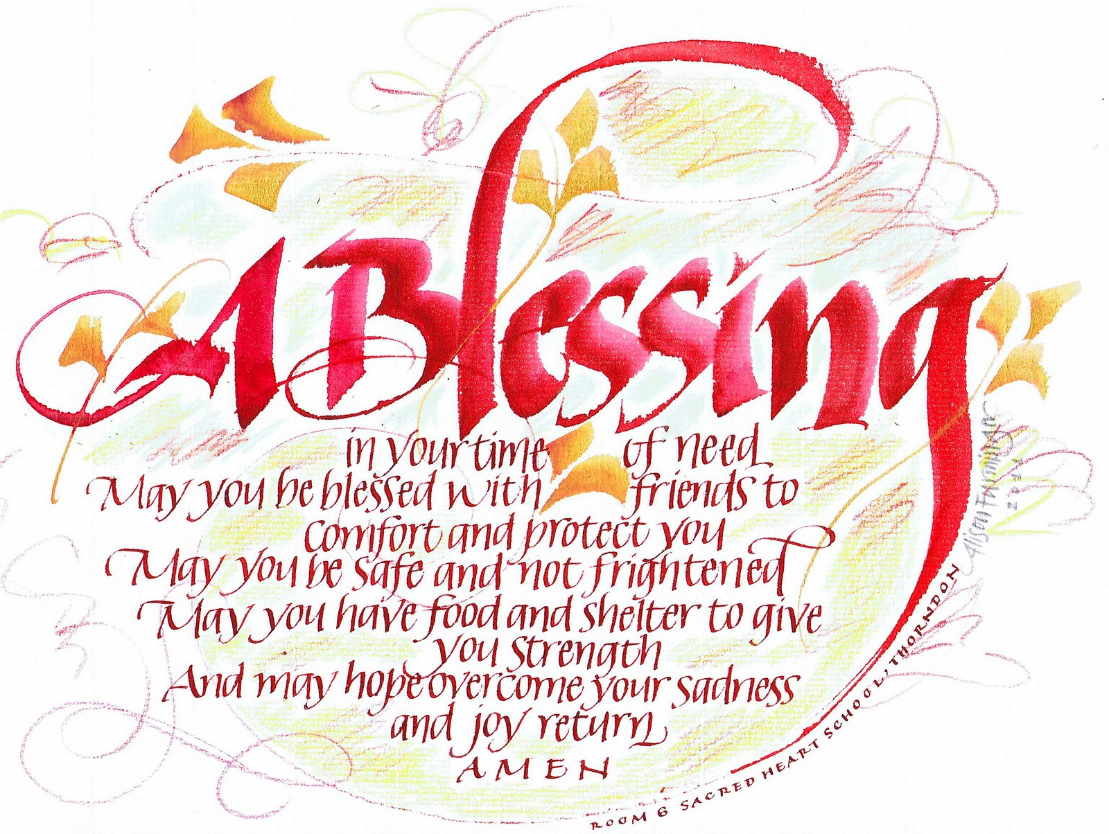 You Are A Blessing Quotes A Blessing In Time Of Need  Pray Like A Gourmet