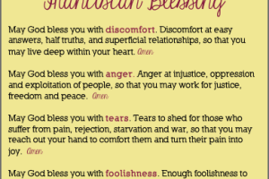 The Fourfold Franciscan Blessing