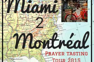 Prayer Tasting Tour 2015